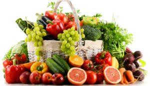 Frutta e vegetali hanno un ruolo protettivo