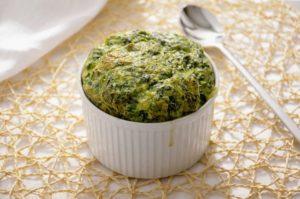 Soufflè agli spinaci