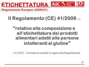 Regolamento Europeo (2009/41). Il Regolamento (CE) 41/2009 relativo alla composizione e all'etichettatura dei prodotti alimentari