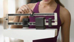 riportare il peso