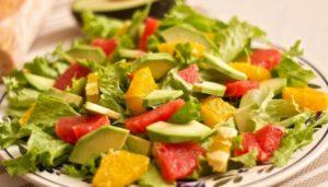 Insalata di avocado e lime