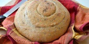 Spirale di pane